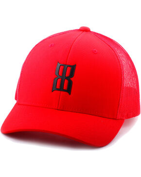 BEX Men's Logo Trucker Hat, Red, hi-res