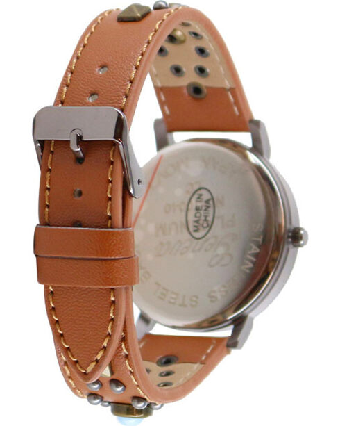 Shyanne® Women's Studded Watch, Brown, hi-res