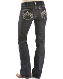 Ariat Women's Mid-Rise Boot Cut Riding Jeans, , hi-res