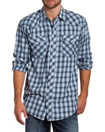 Resistol Men's Sheridan Plaid Long Sleeve Shirt, , hi-res
