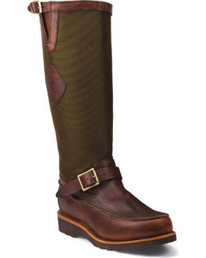 Chippewa Men's Snake Field Boots, Mahogany, hi-res
