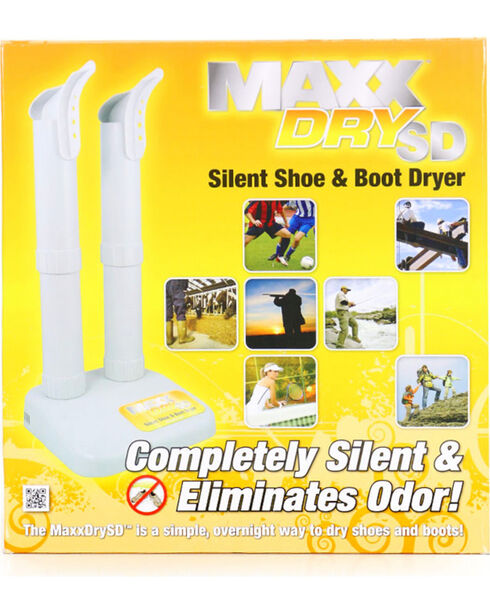 MaxxDry SD Silent Shoe & Boot Dryer, White, hi-res