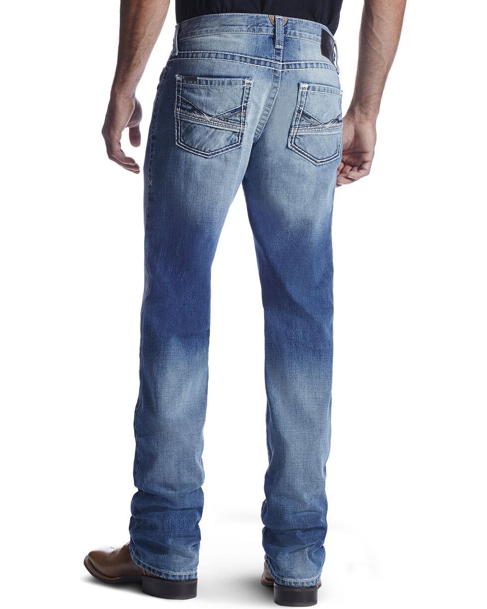 Ariat Men's M5 Lefty Ashwood Straight Leg Jeans, Light Blue, hi-res
