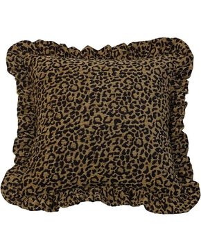 HiEnd Accents San Angelo Leopard Print Pillow, Multi, hi-res