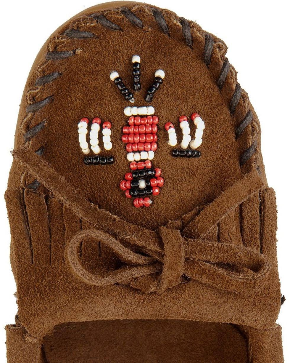 Minnetonka Thunderbird II Moccasin, Dusty Brn, hi-res