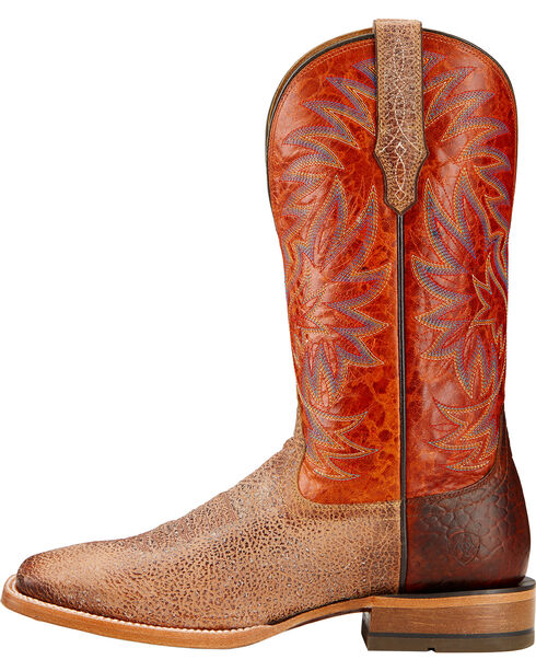 Ariat Men's High Call Square Toe Western Boots, Sand, hi-res