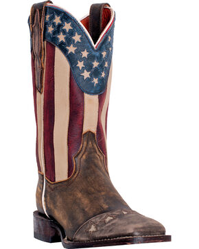 Dan Post Women's Cowboy Certified Betsy Boots, Tan, hi-res