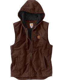 Carharrt Men's Dark Brown Knoxville Vest, , hi-res