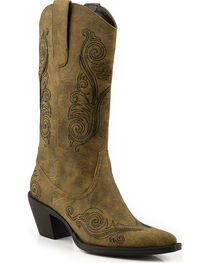 Roper Women's Narrow Toe Fashion Western Boots, , hi-res