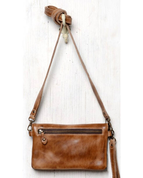 Bed Stu Women's Cadence Tan Rustic Wallet/Clutch/Crossbody Bag, Tan, hi-res