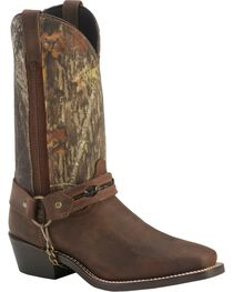 Laredo Men's Gadsden Camo Harness Boots, , hi-res