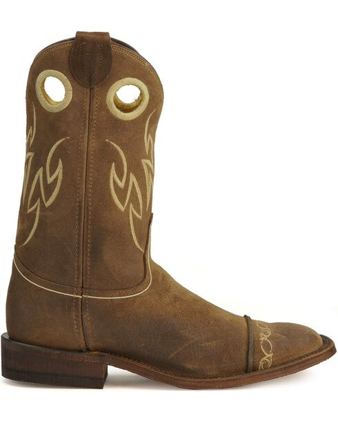 Justin Men's Bent Rail Collection Western Boots, Testa, hi-res