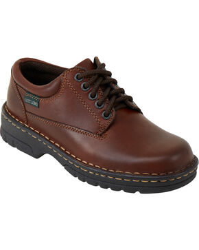 Eastland Women's Brown Plainview Oxfords , Natural, hi-res