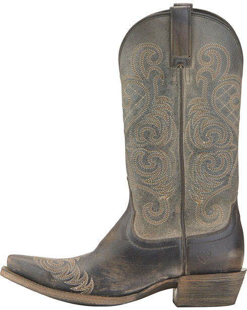 Ariat Women's Bright Lights Western Boots, Black, hi-res