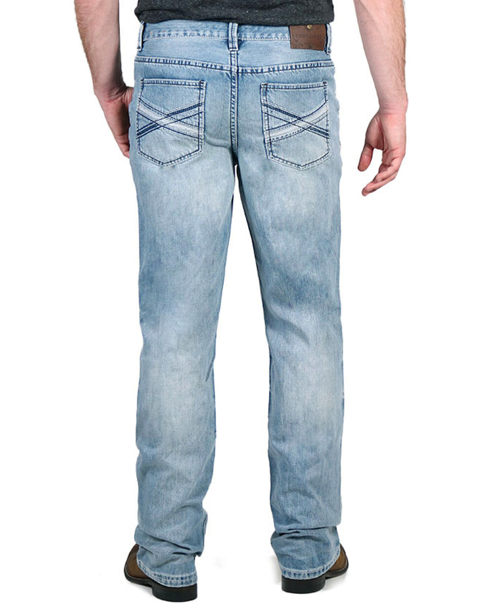 Cody James® Smokey Mountain Light Wash Boot Cut Jeans, , hi-res