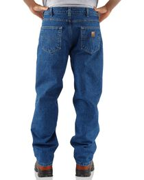 Carhartt Men's Relaxed Fit Fleece Lined Jeans, , hi-res