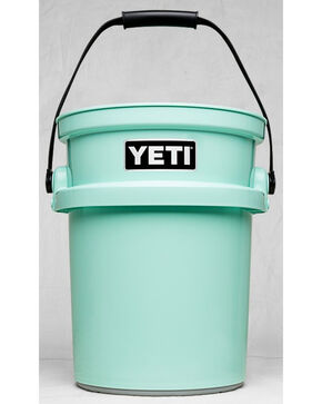 Yeti Seafoam Loadout Bucket , Aqua, hi-res