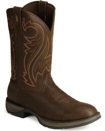 Durango Men's Rebel Round Toe Western Boots, , hi-res