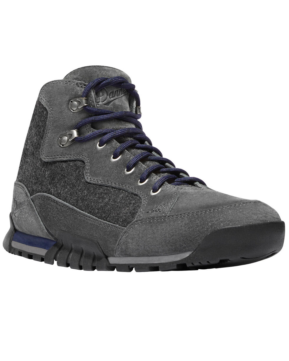 "Danner Men's Glacier Skyridge Suede/Wool 4.5"" Lace Up Boots - Round Toe, Aqua, hi-res"
