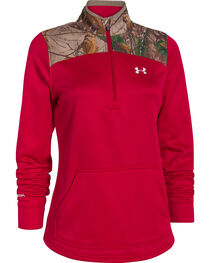 Under Armour Women's Caliber 1/2-Zip Pullover, , hi-res