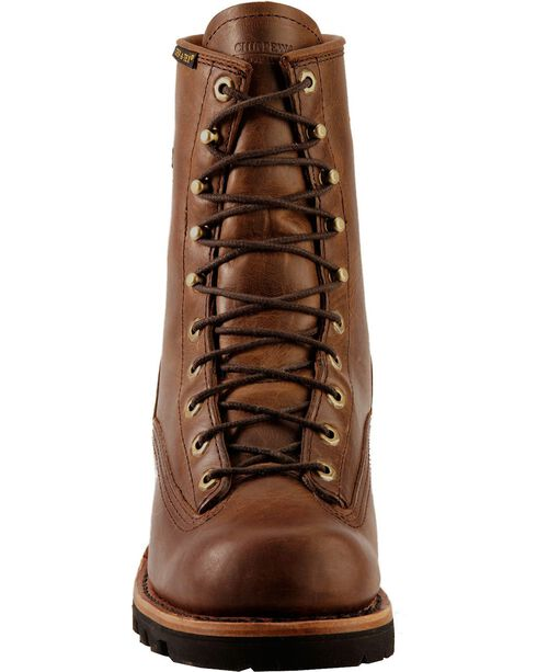 "Chippewa Men's Steel Toe 8"" Logger Work Boots, Bay Apache, hi-res"
