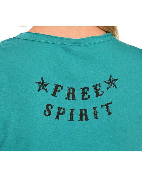 Liberty Wear Women's Let It Ride Tee, Jade, hi-res