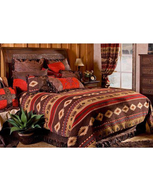 Carstens Cimarron Full/Queen Bedding - 5 Piece Set, Multi, hi-res