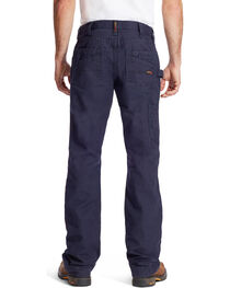 Ariat Men's FR M4 Navy Workhorse Jeans - Boot Cut, , hi-res