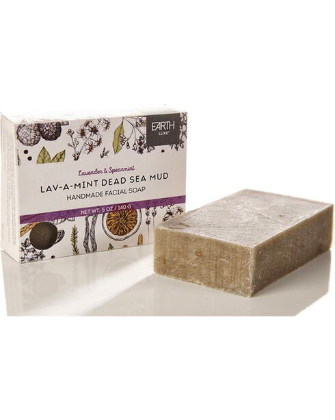 Gift Craft Lav-A-Mint Dead Sea Mud All Natural Facial Soap, No Color, hi-res