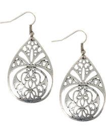 Shyanne® Women's Filigree Teardrop Earrings, , hi-res