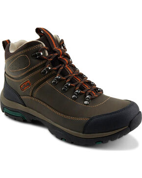 Eastland Men's Brown Rutland Mid Trail Boots, Brown, hi-res