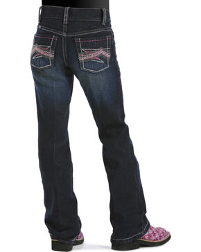 Cruel Girl Girls' Ella Regular Fit Jeans - 4-6X, Dark Denim, hi-res