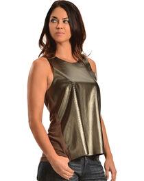 Cowgirl Justice Women's Bronze Tank, , hi-res