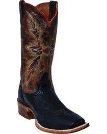 Laredo Men's Carson Western Boots, Black, hi-res