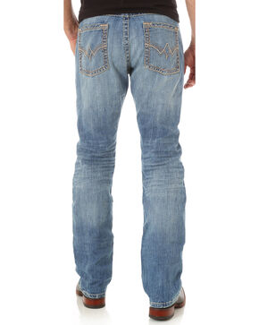 Wrangler Rock 47 Men's Indigo Denim Jeans - Slim Fit, Indigo, hi-res