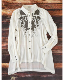 Tasha Polizzi Women's White Addison Tunic , , hi-res