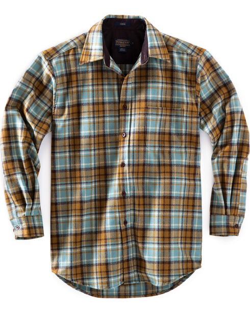 Pendleton Men's Bronze Ombre Lodge Shirt , Bronze, hi-res