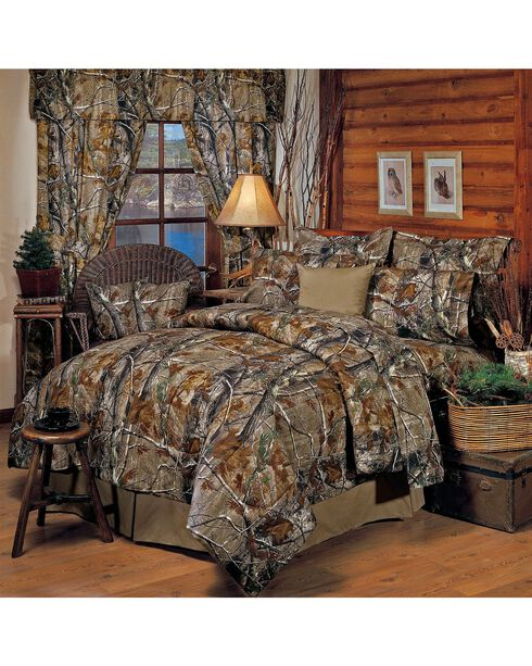 Realtree Camo California King Comforter Set, Camouflage, hi-res
