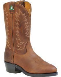 Boulet Vibram Pull-On Work Boots - Steel Toe, , hi-res