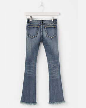 Miss Me Girls' Fray By Your Own Rule Jeans - Boot Cut, Blue, hi-res
