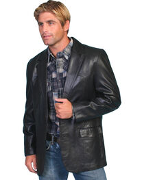 Scully Lamb Leather Blazer - Tall, , hi-res