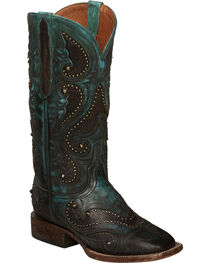 Lucchese Aqua Ombre Rita Cowgirl Boots - Square Toe , , hi-res