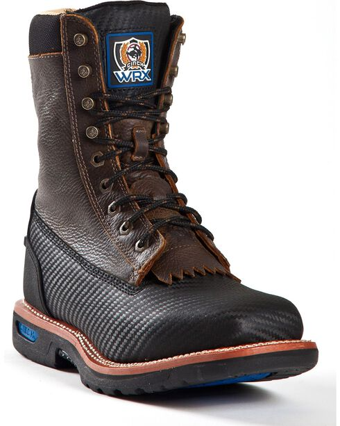 Cinch Men's Rod Patrick WRX Grader Work Boots, Black, hi-res