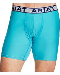 Ariat Men's Turquoise AriatTEK UnderTEK Sport Brief, , hi-res