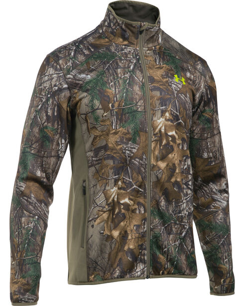Under Armour Scent Control Armour Fleece Jacket, Camouflage, hi-res