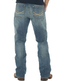 Wrangler 20X Men's 42 Vintage Boot Medium Wash Jeans - Big and Tall, , hi-res
