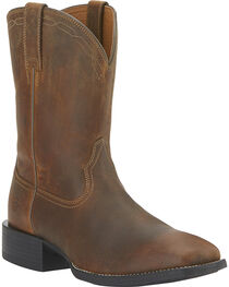 Ariat Men's Heritage Roper Boots - Wide Square Toe, , hi-res