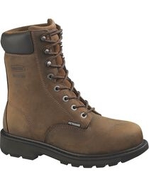 Wolverine Men's McKay Steel Toe Metatarsal Guard EH Work Boots, , hi-res