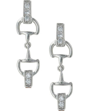 Montana Silversmiths A Bit of Brilliance Earrings, Silver, hi-res