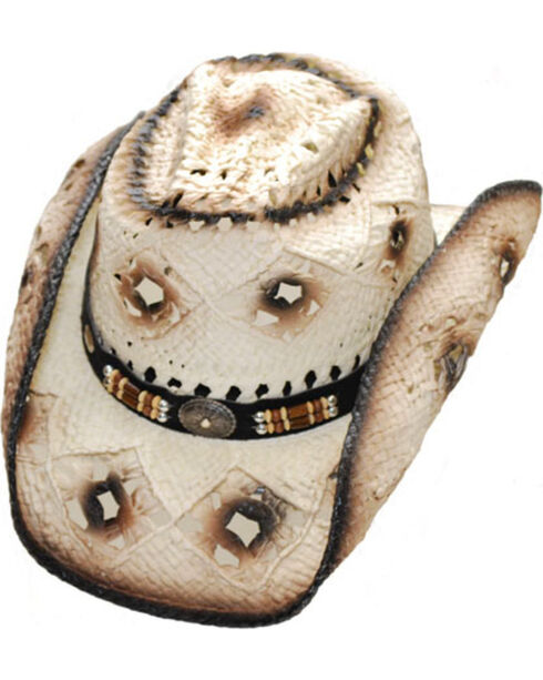 Western Express Men's Jackson Straw Hat, , hi-res